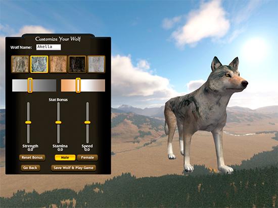 скачать игру про волков Wolfquest 3 - фото 4