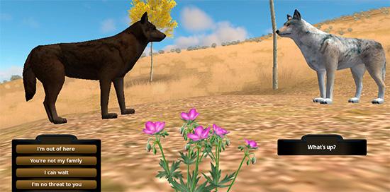 скачать игру про волков Wolfquest 3 - фото 6