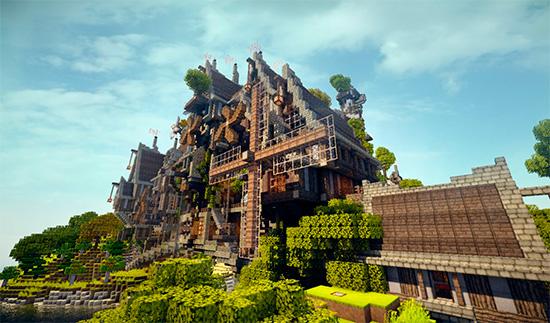 Замок, созданный с помощью кодов